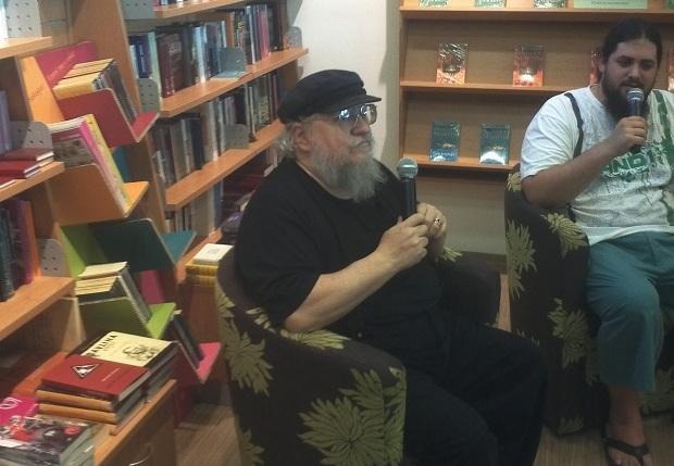 George R.R. Martin in libreria