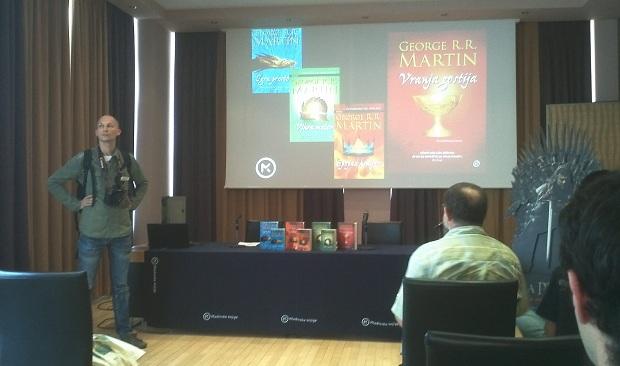 Presentazione dei libri di George R.R. Martin