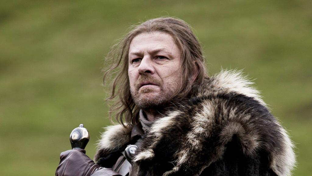 Eddard Stark, alias Sean Bean
