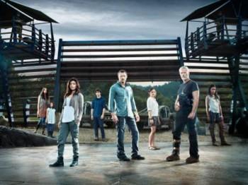 Il cast di Terra Nova