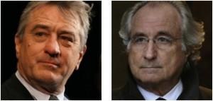 Robert de Niro & Bernie Madoff