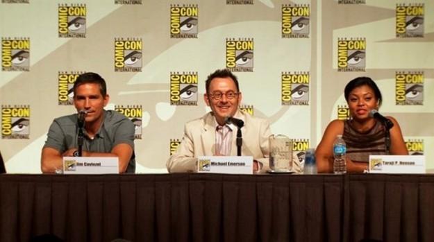 Cast Person of Interest - Comic - Con 2012