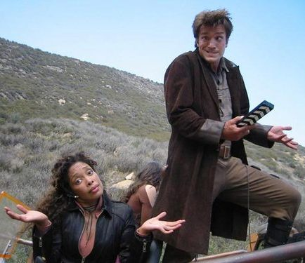 Nathan Fillion + Gina Torres