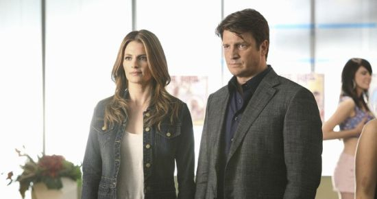 Nathan Fillion + Stana Katic