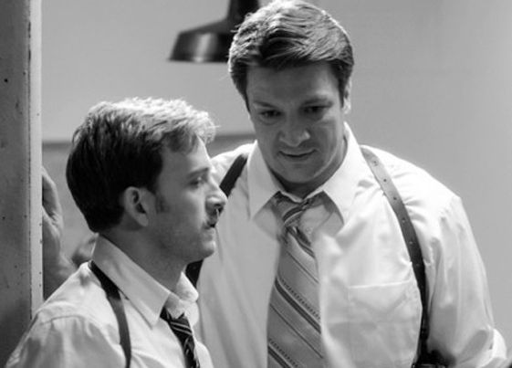 Tom Lenk e Nathan Fillion - Much-Ado-About-Nothing