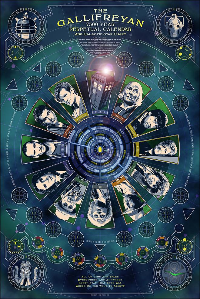 Calendario Doctor Who