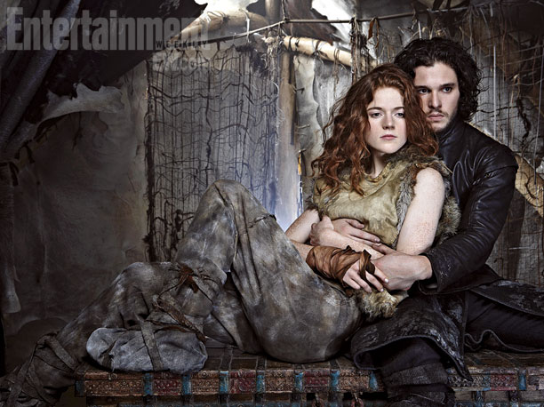 GoT-Jon Snow e Ygritte