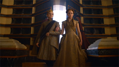 Joffrey e Sansa