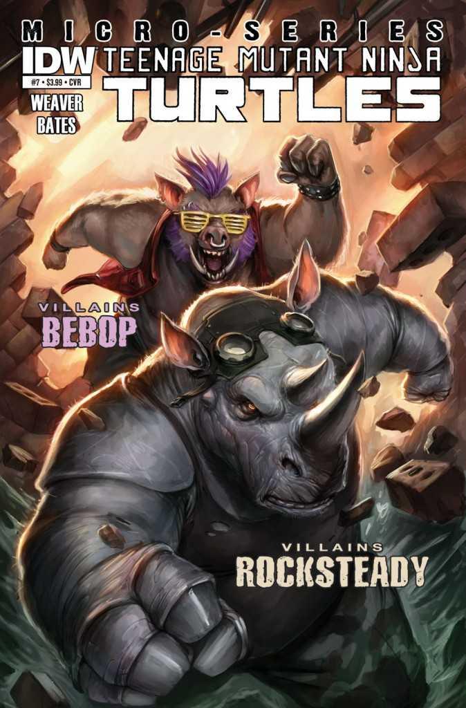 Bebob Rockstead TMNT