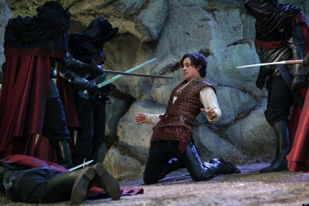 Peter Gadiot: Cyrus in OUAT in Wonderland