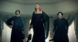 American horror story coven Jessica Lange Kathy Bates
