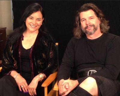 Diana Gabaldon e Ronald Moore