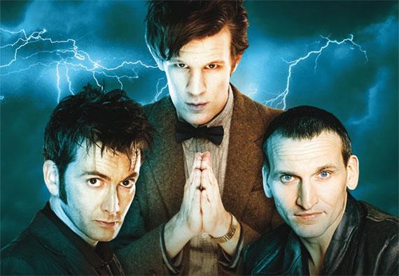 Doctor Who: Eccleston Tennant  Smith