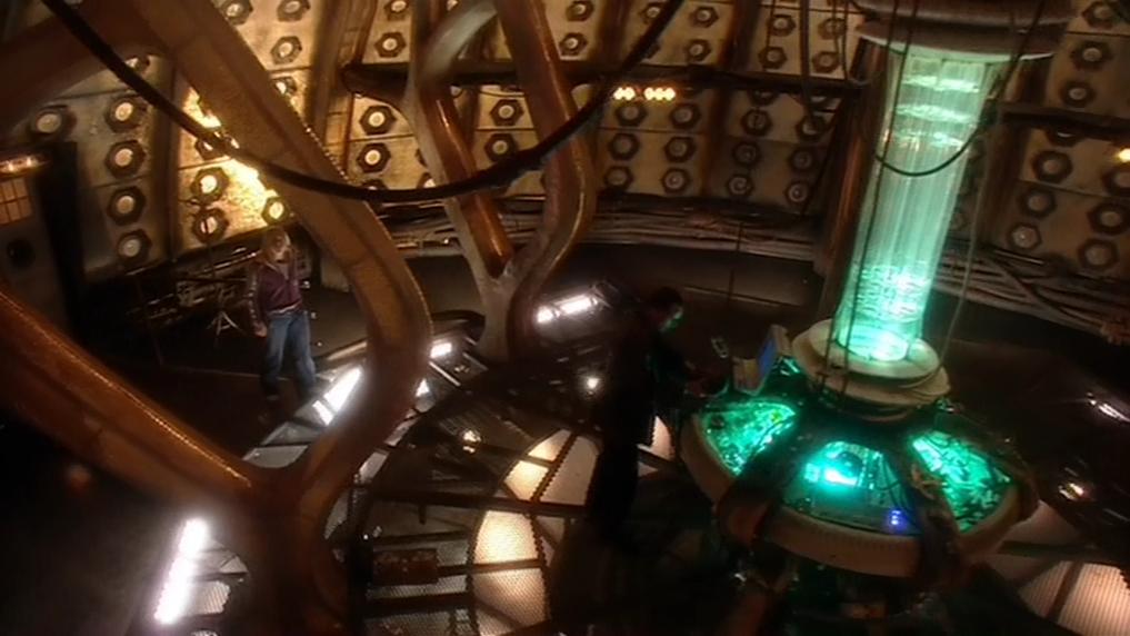 TARDIS interno Doctor Rose