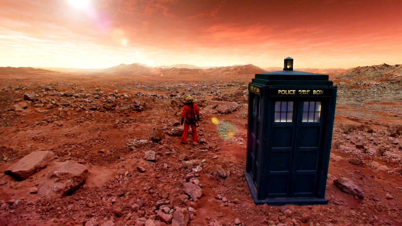 Doctor Who Mars Tardis
