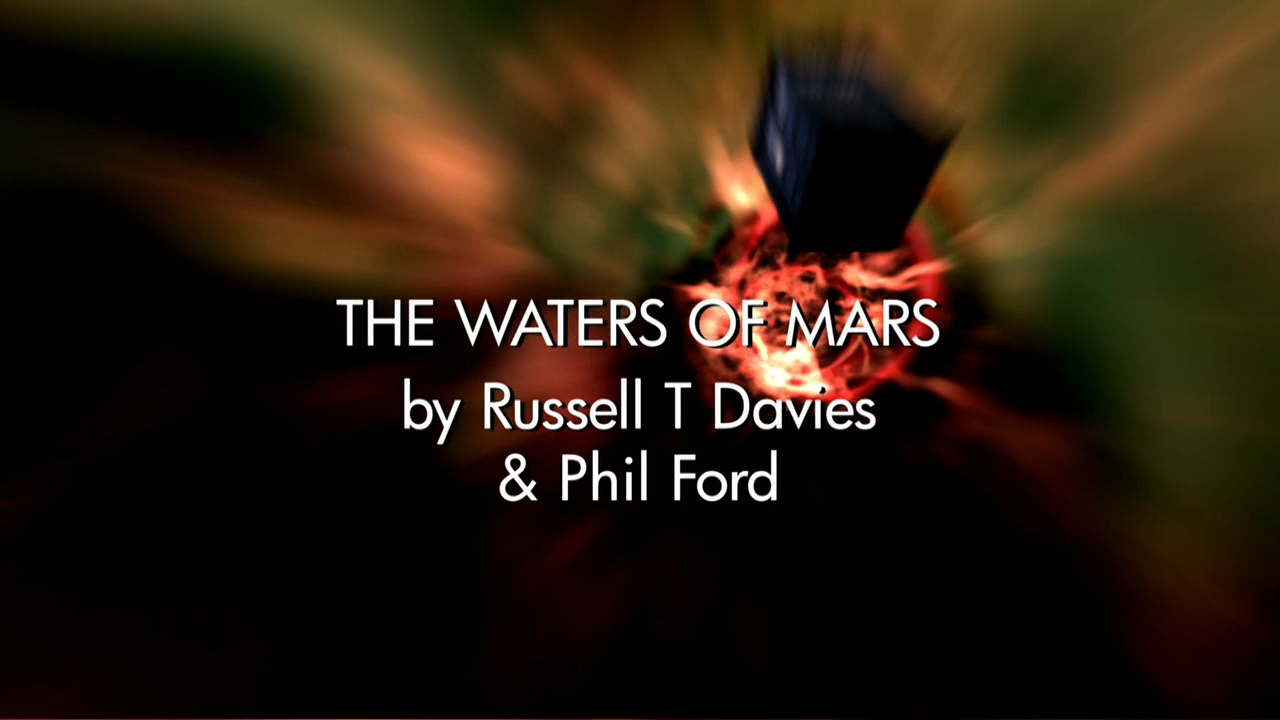 Doctor Who Waters Of Mars Title Card