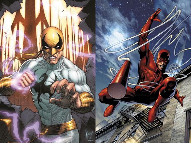 Iron Fist e Daredevil