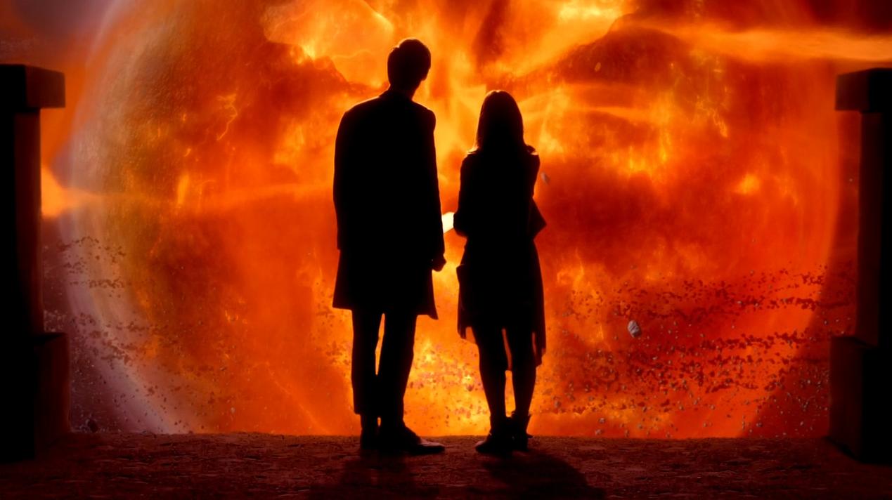 ...con Clara.