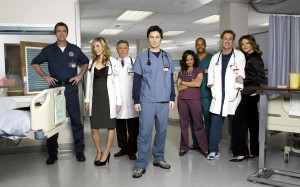 I protagonisti di Scrubs