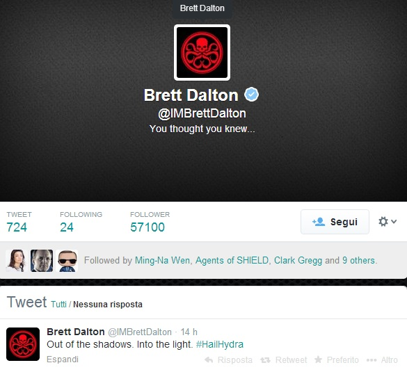 Twitter Brett Dalton
