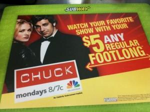 Chuck and Subway