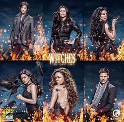 witches comic poster