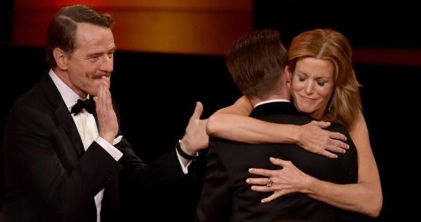 Bryan Cranston, Aaron Paul e Anna Gunn fanno guadagnare a Breaking Bad ben tre Emmy su quattro nella recitazione.