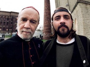 George Carlin and Kevin Smith