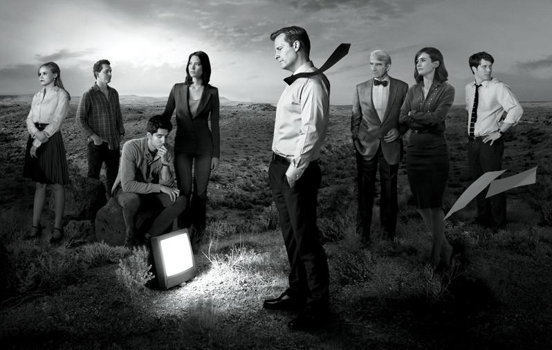 The Newsroom - poster