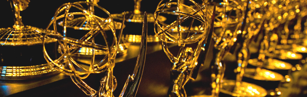 Emmy Awards trophies