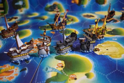Black Fleet - le navi