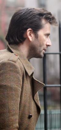David Tennant nei panni di Zebediah Killgrave, villain della futura serie A.K.A. Jessica Jones