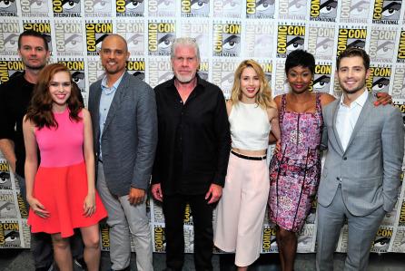 Amazon Original Series 'Hand of God' Panel And Signing  - Comic-Con International 2015