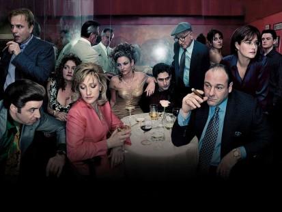 Il cast de I Soprano