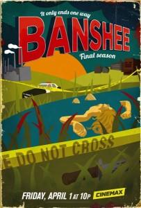 Poster IV stagione Banshee
