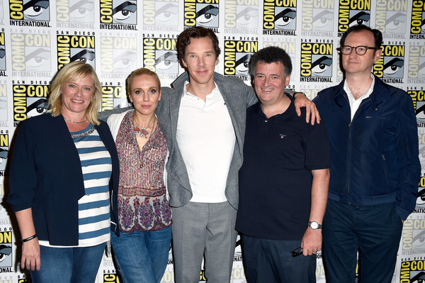 Sherlock panel comic con