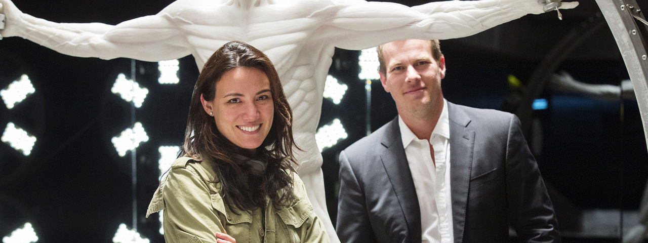 I creatori della serie, Lisa Joy e Jonathan Nolan