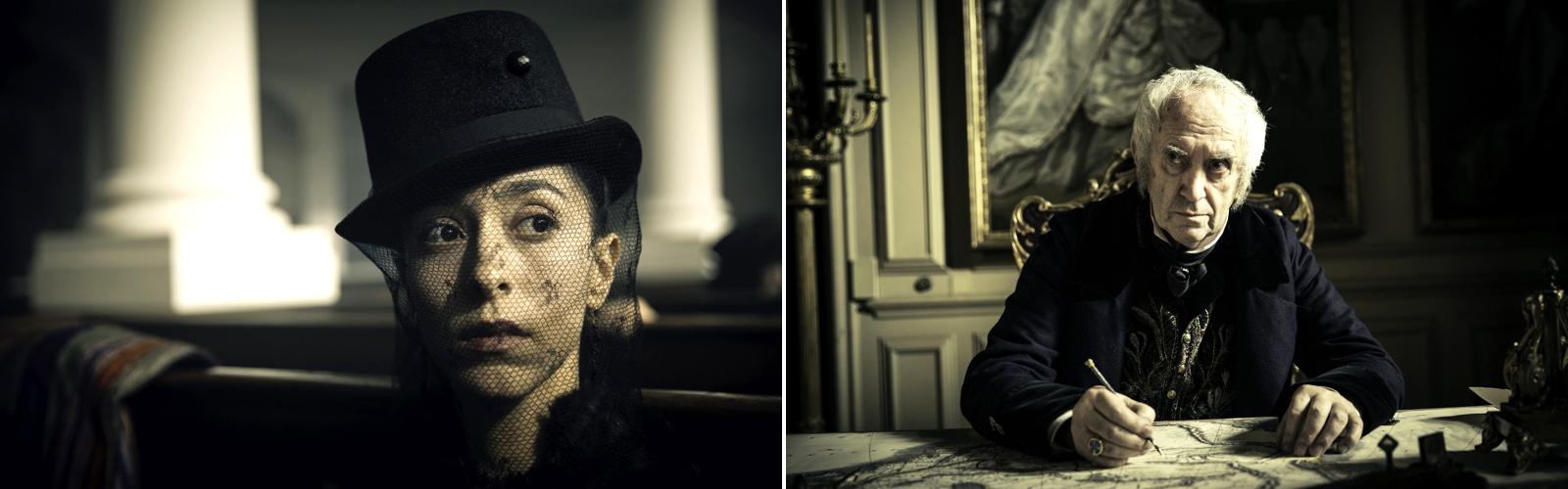 Taboo Oona Chaplin Jonathan Pryce