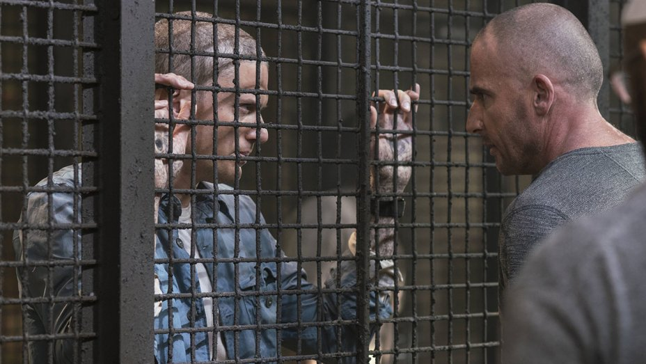 Prison Break 5, Scofield e Burrows