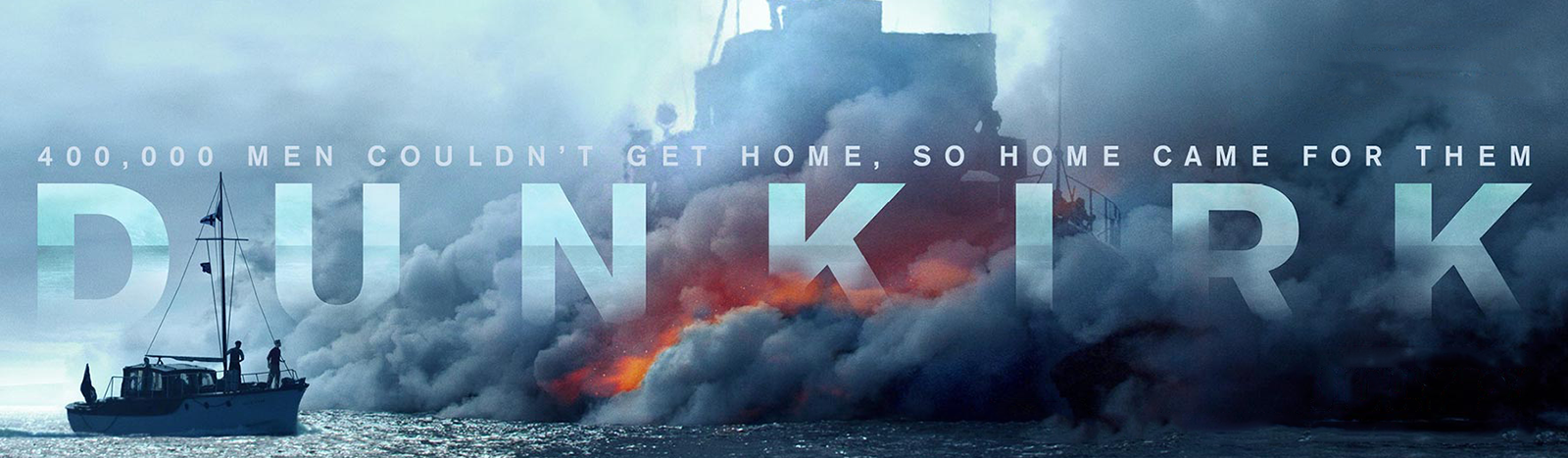 Dunkirk Christopher Nolan banner