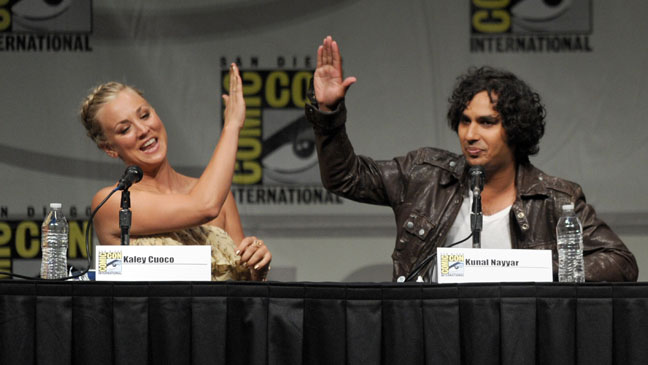 """The Big Bang Theory"" Panel - Comic-Con International 2012"
