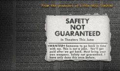 ItaSA al cinema: Safety Not Guaranteed