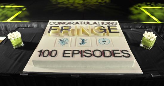 Fringe cake 100 episode