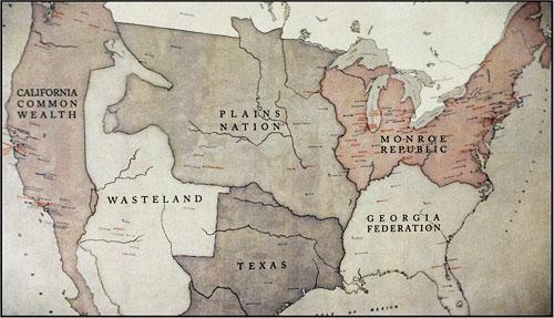 revolution map