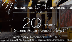 SAG Awards: le nomination!