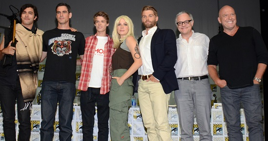 Under the dome cast comic con 2014