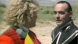 Il Valeyard ed il Sesto Dottore.