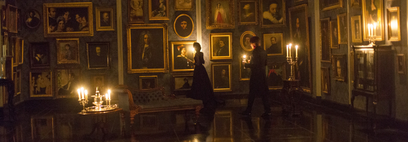Penny Dreadful - banner paintings