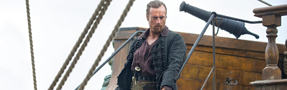 A character to get his teeth into Ö Toby Stephens as Captain Flint in Black Sails. Photograph: Sport