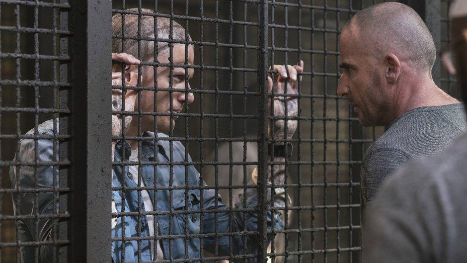 Prison Break 5, Scofield e Burrows